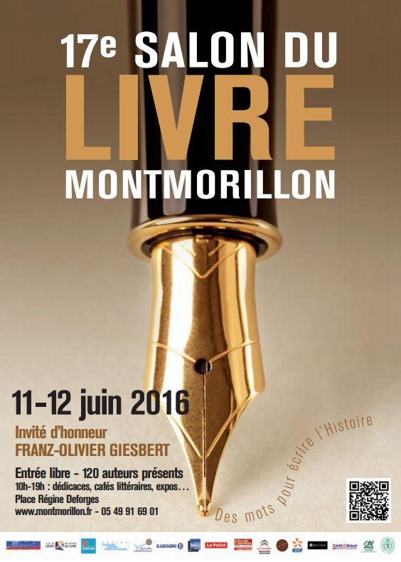Read more about the article Compte rendu sur le Salon du Livre de Montmorillon des 11 et 12 juin 2016 !