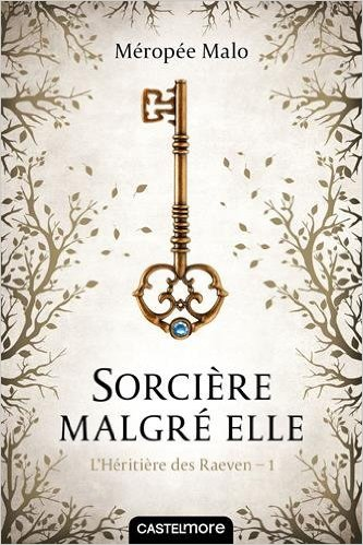 Read more about the article Chroniques 2016  L'Héritière des Raeven, Tome 1 – Sorcière malgré elle de Méropée Malo