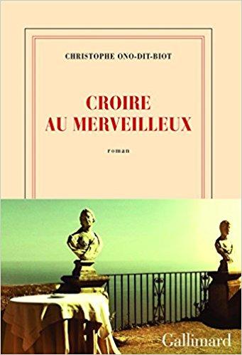 Read more about the article Chroniques 2017  Croire au merveilleux de Christophe Ono-Dit-Biot