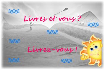 Read more about the article Livres et vous ? Livrez-vous… Avec la super lectrice… Et auteure Jessica !