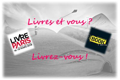 """Read more about the article Livres et vous ? Livrez-vous… Avec Laure Lapègue et Chris Simon au Salon du livre """"Livre Paris"""" pour le site Booknseries et la littérature indé !"""