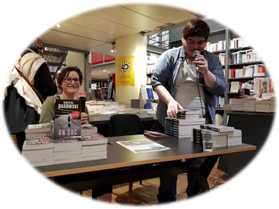 Compte rendu sur la soirée du 29 mars 2018 avec Solène Bakowski à la Librairie de Paris…
