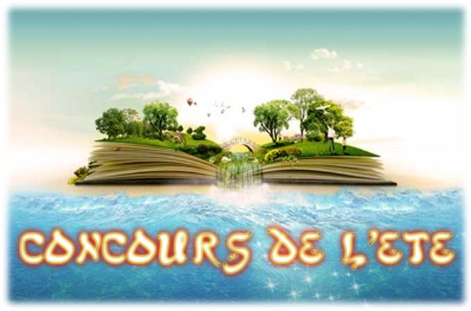 C'est parti pour neuf concours de folie… Ou plus simplement : MEGA CONCOURS DE L'ETE… ACTE 9 !