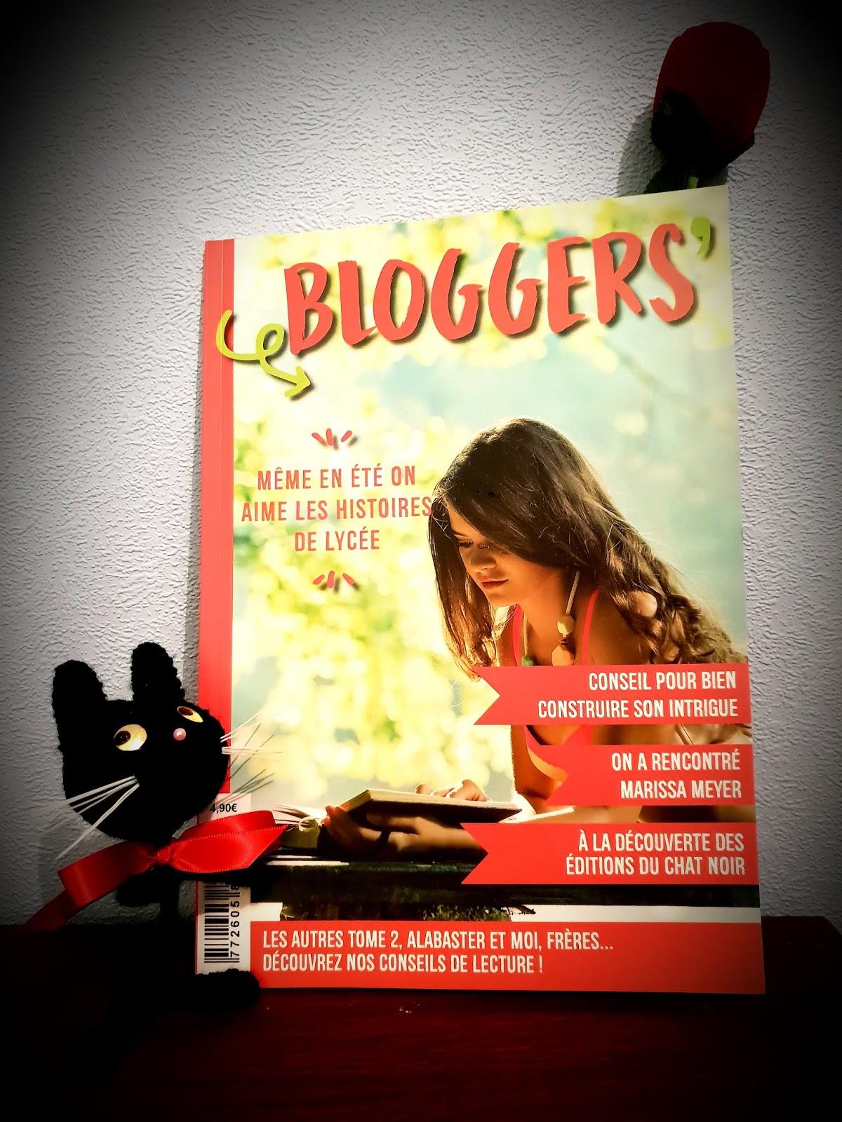 Read more about the article Focus sur… Le cinquième numéro de Bloggers' le magazine littéraire !