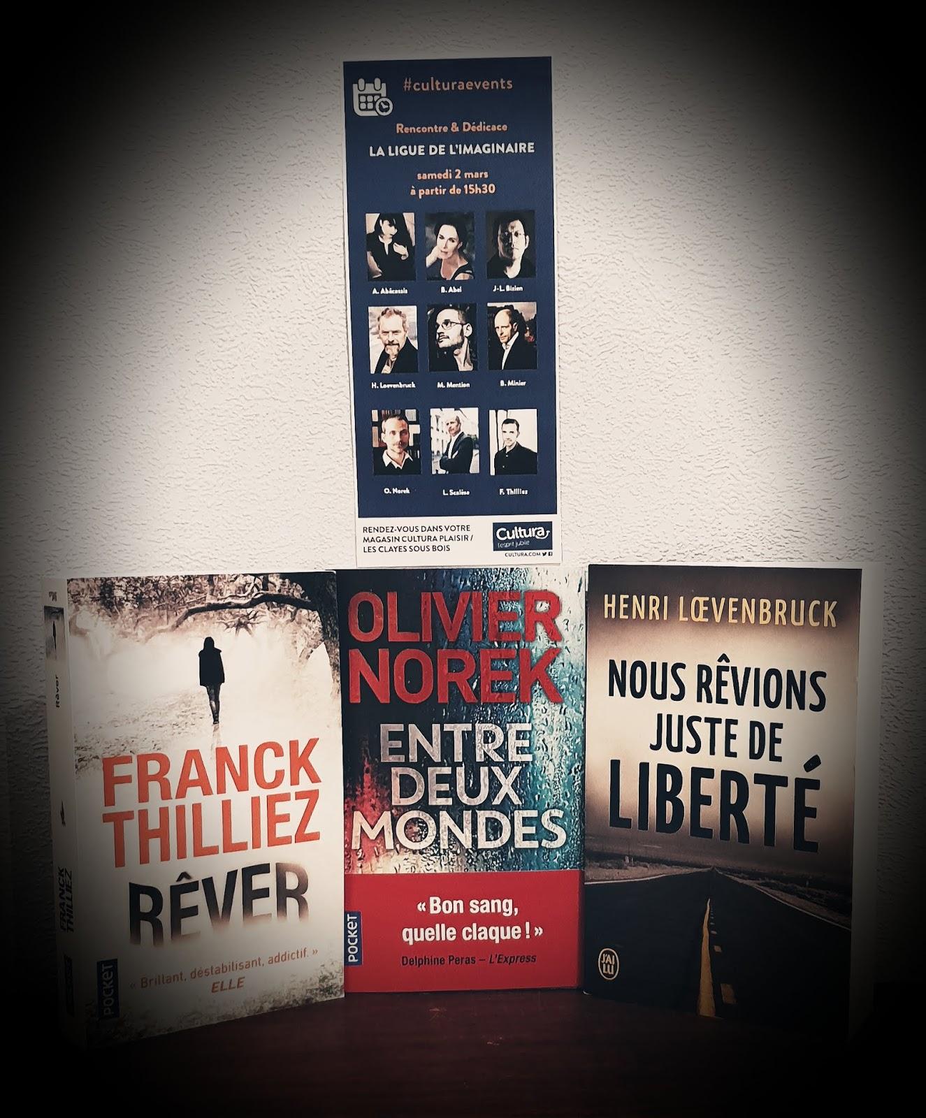 Une Ligue de l'Imaginaire… Neuf auteurs réunis… Un concours… Trois romans dédicacés !