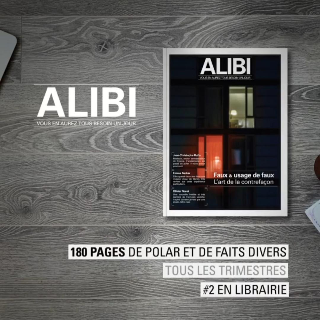 Read more about the article Focus sur… Le second numéro de la revue Alibi !