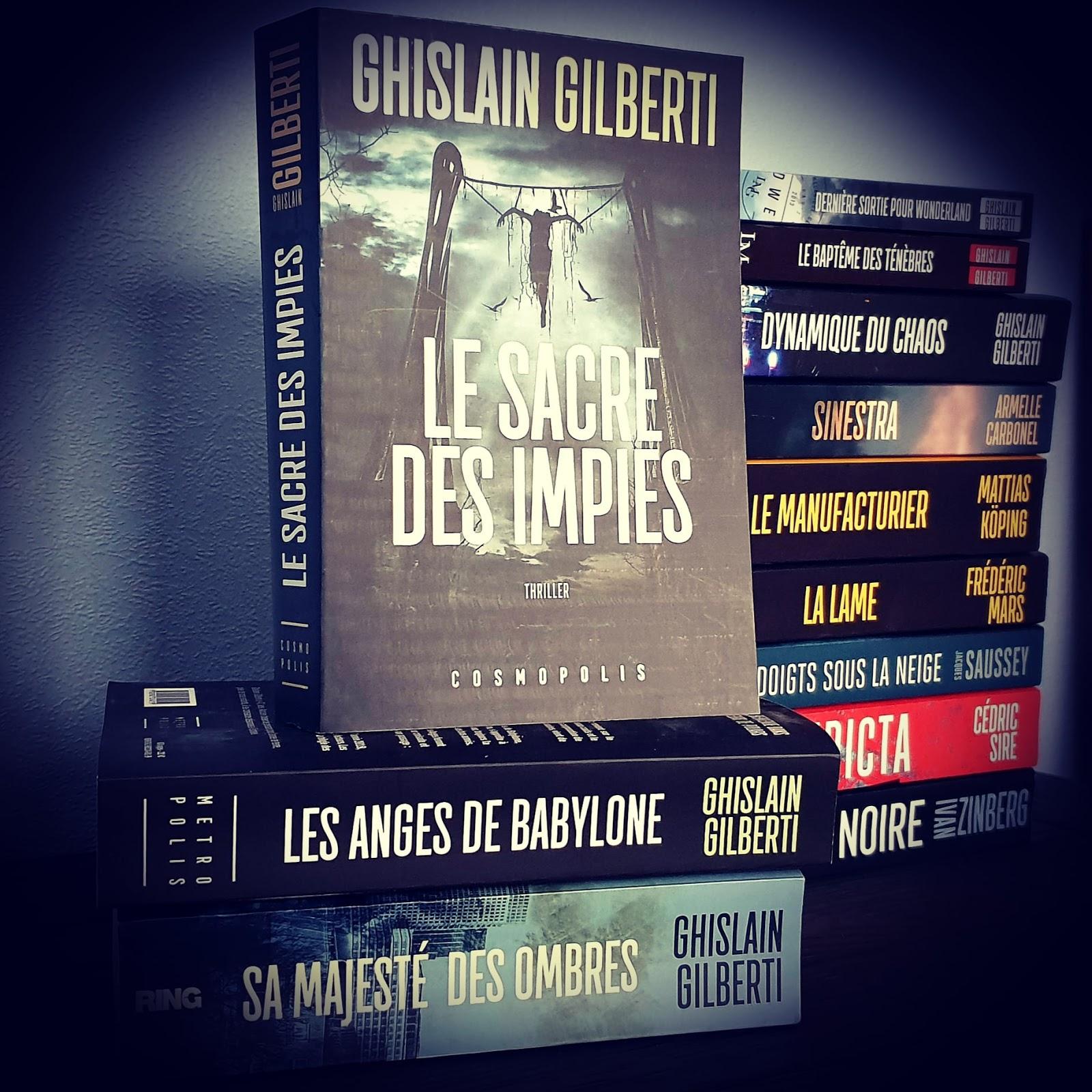Read more about the article Chroniques 2020  Le Sacre des Impies de Ghislain Gilberti
