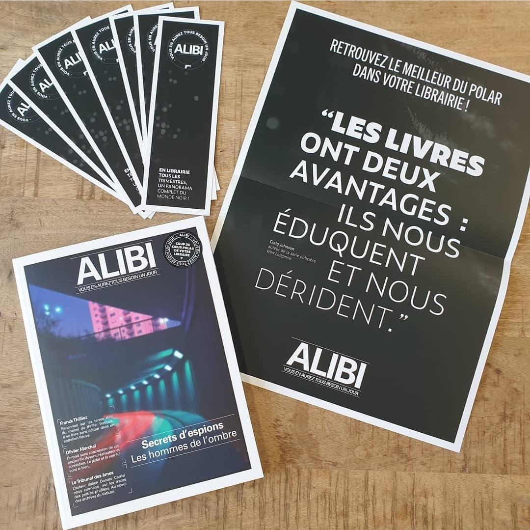 Read more about the article Focus sur… Le troisième numéro de la revue Alibi !