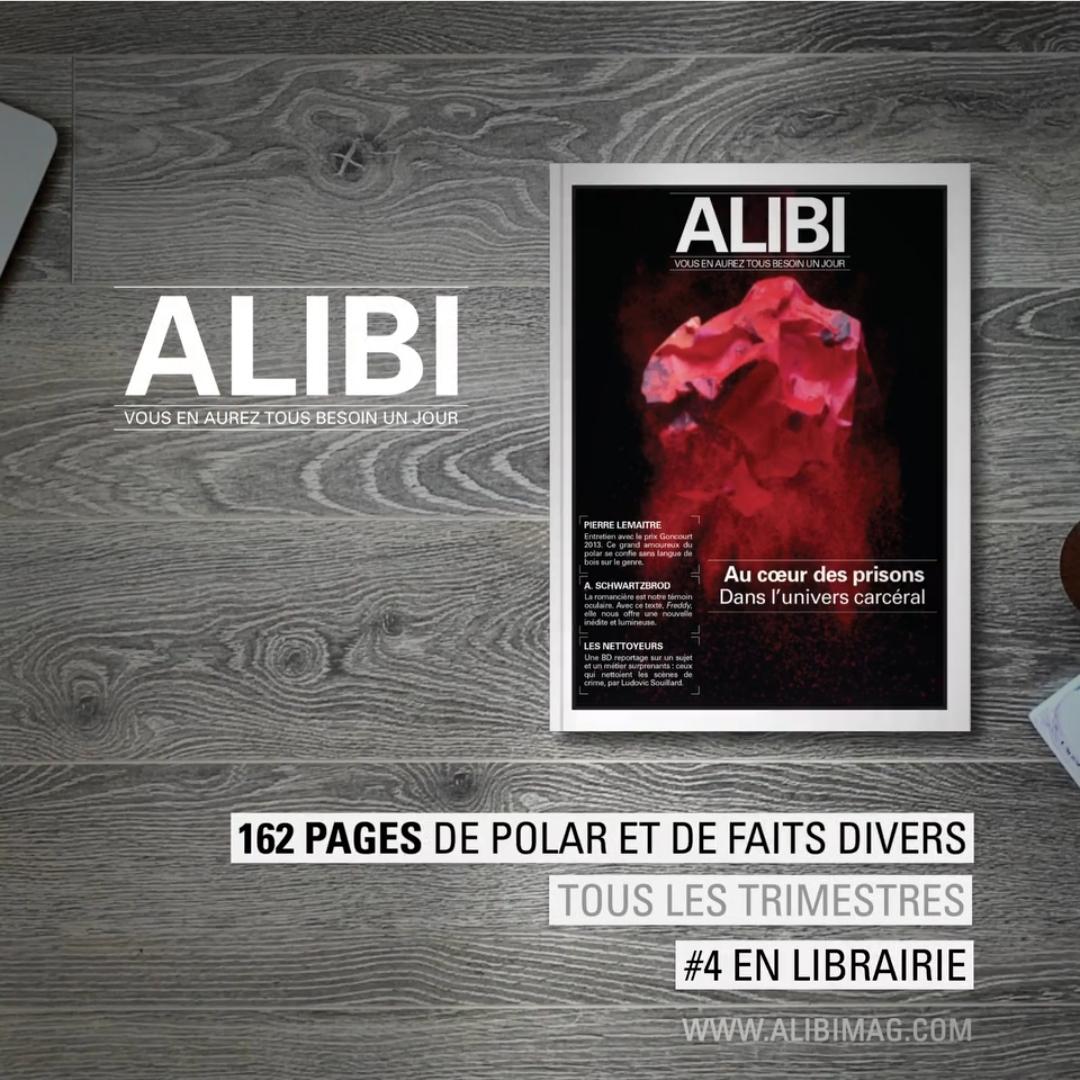Read more about the article Focus sur… Le quatrième numéro de la revue Alibi !