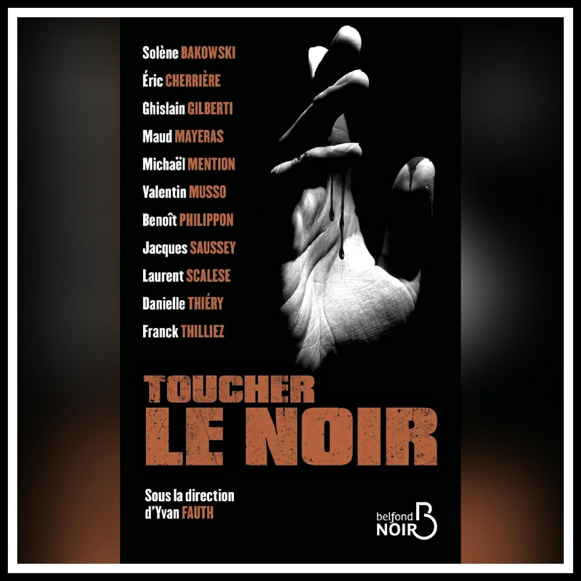 Read more about the article Chroniques 2021  Toucher le noir, recueil de nouvelles signé par onze auteurs sous la direction d'Yvan Fauth