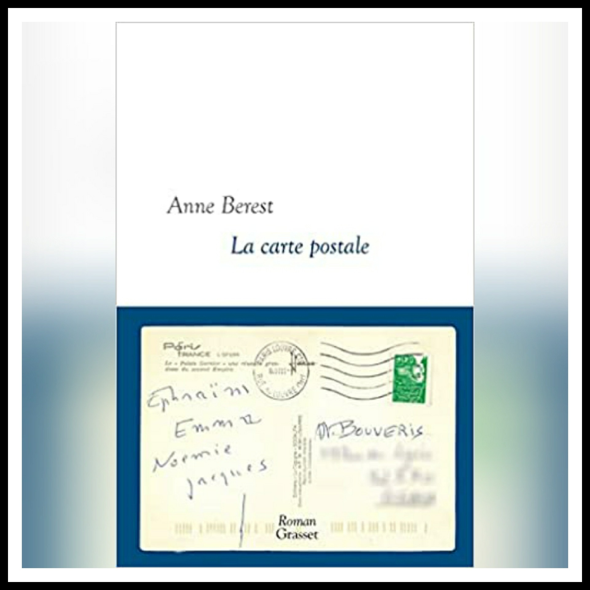 Read more about the article Chroniques 2021 \ La carte postale d'Anne Berest