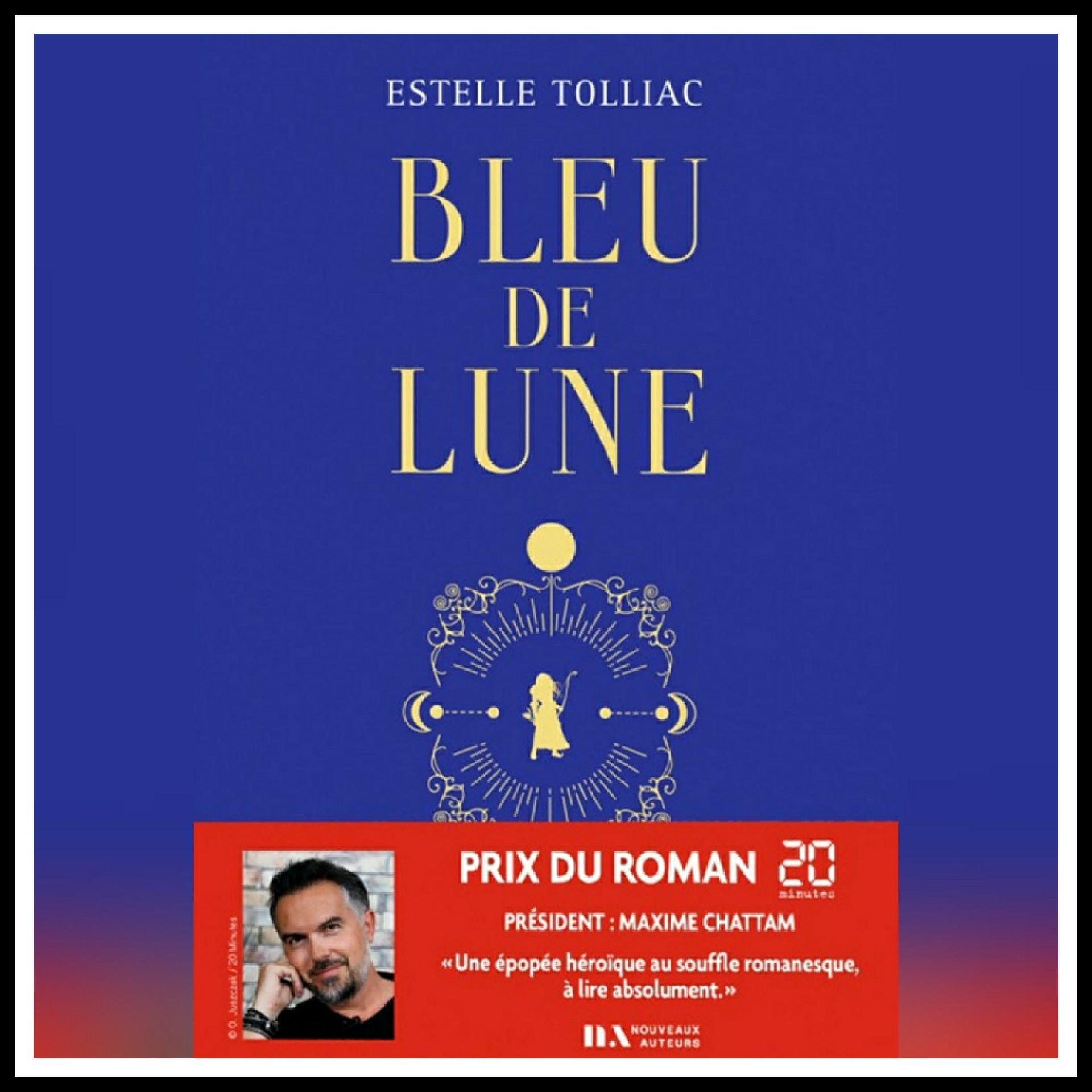 Read more about the article Chroniques 2021 \ Bleu de Lune d'Estelle Tolliac